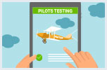 Pilots testing period starts in May 2018
