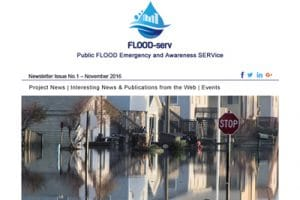 FLOOD-serv First Newsletter Issue is now available!