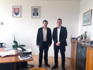 FLOOD-serv signed a memorandum of cooperation with the Slovak Hydro-meteorological Institute (SHMU)