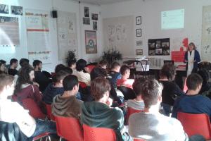"""Pre-Test App technical presentation at """"Marsano"""" Istituto"""