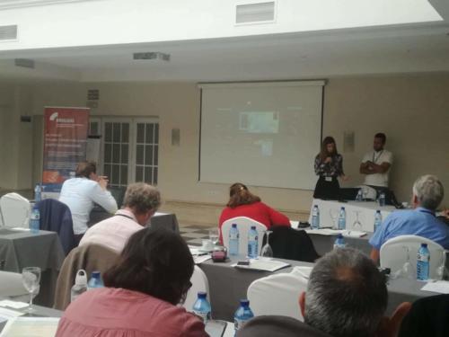 FLOOD-serv presented at the Brigaid event