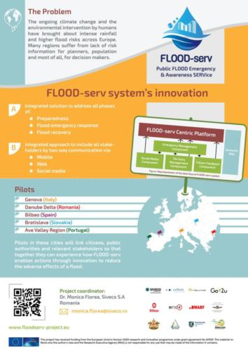 FLOOD-serv presented at the Brigaid event - Poster